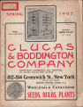 Wholesale catalogue of seeds, bulbs and plants  / Clucas         & Boddington Co.